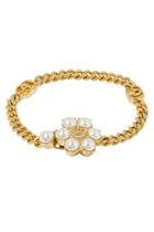 Pearl Double G Bracelet