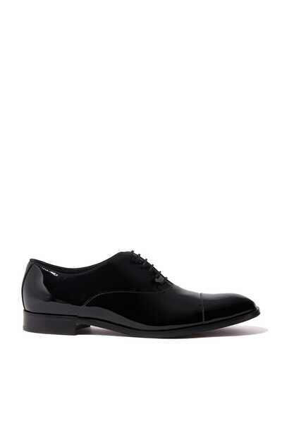 Patent Leather Oxford Shoes