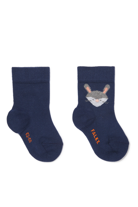 Fox And Rabbit Socks
