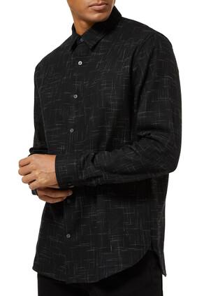 Crosshatch Cotton Shirt
