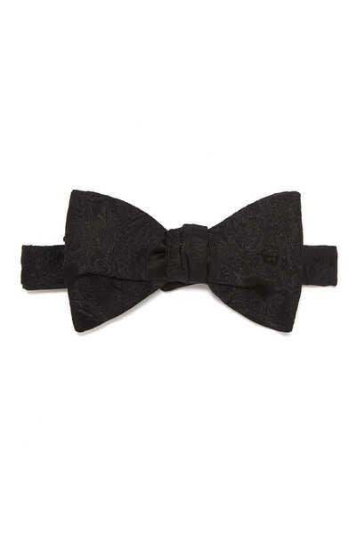 Jacquard Silk Bow Tie