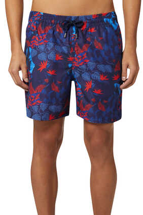 Maui 31 Jungle Print Swim Shorts