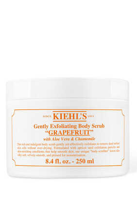 Gently Exfoliating Grapefruit Body Scrub