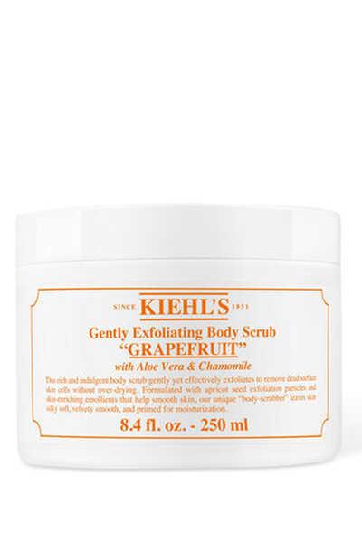 Gently Exfoliating Grapefruit Body Scrub