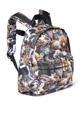 Animal Print Backpack