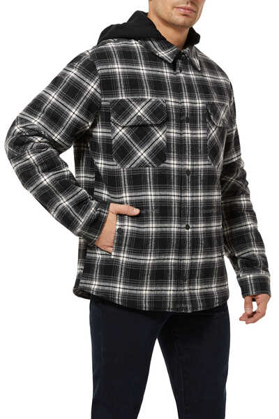 Padded Flannel Check Shirt