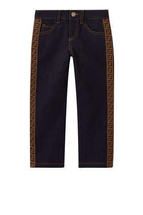 FF Band Denim Jeans