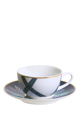 Tala Teacups & Saucers, Set of 2