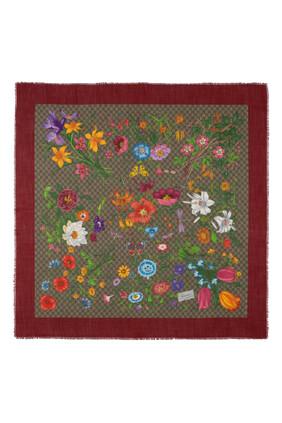 Flora Print Shawl