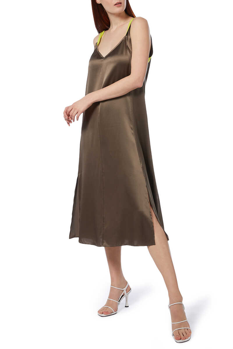Colette Slip Silk Dress image thumbnail number 2