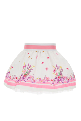 Garden Cotton Skirt