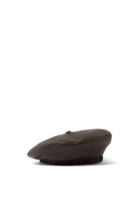 Tarone Vegan Leather Beret