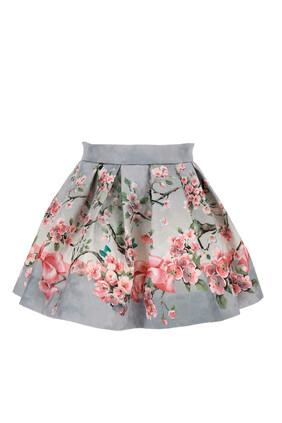 Brocade Blossom Skirt