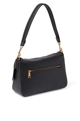 Soft Tabby Shoulder Bag in Leather