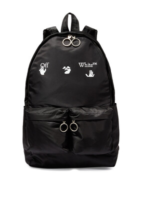 Big Logo Canvas Backpack