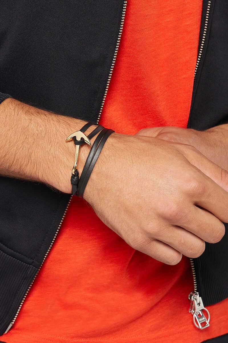 Hooked Leather Bracelet image number 2