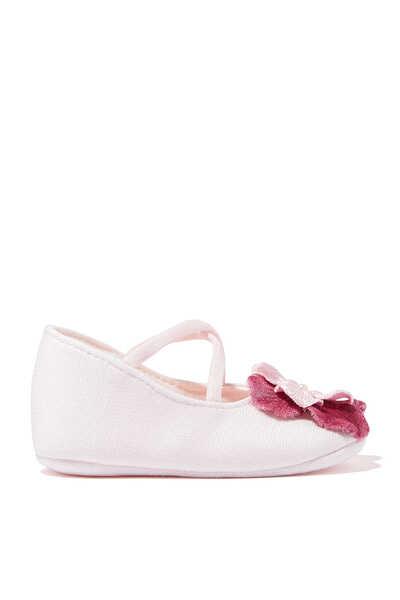 Flower Appliqué Shoes