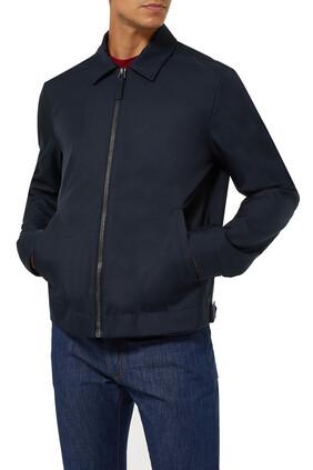 Slim-Fit Tech Jacket