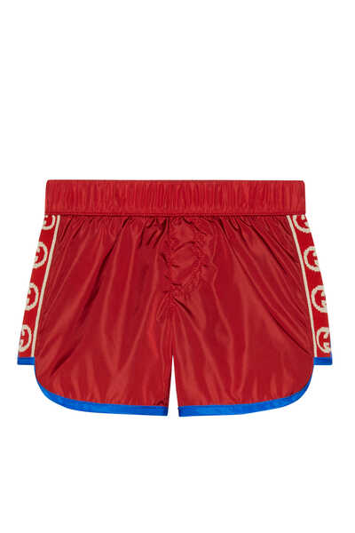Interlocking GG Swim Shorts