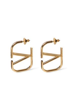 Valentino Garavani VLogo Earrings
