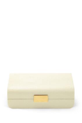Modern Shagreen Small Jewelry Box