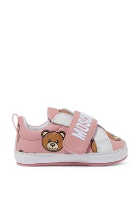 Bear Logo Sneakers