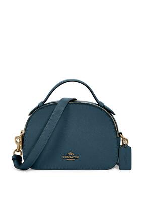 Serena Leather Satchel