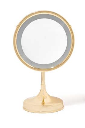 Illuminating Table Mirror