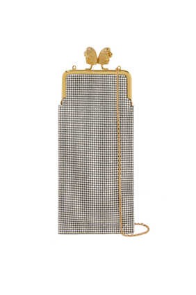 Pamela Crystal Embellished Clutch