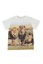 Lion Graphic Print T-shirt