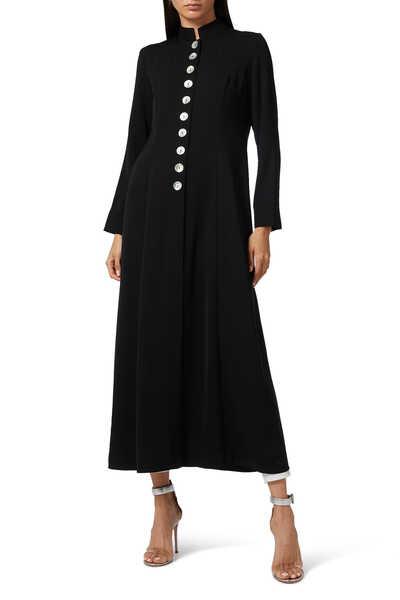 Coat Button Down Abaya