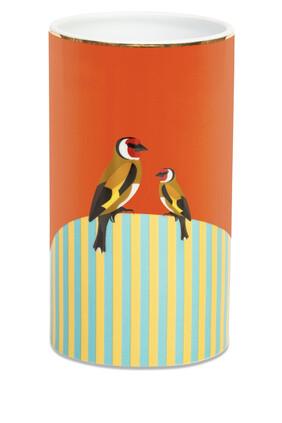 Sarb European Goldfinch Vase