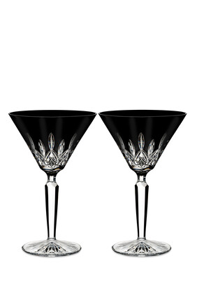 Waterford Lismore Martini Glasses, Set of Two