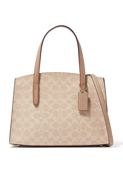 Charlie Carryall 28 Signature Canvas Bag