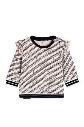 Pattern Print Sweatshirt