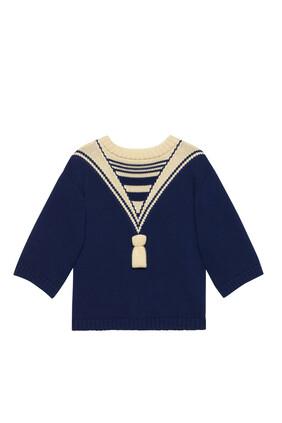 GG Knit Cotton Shirt
