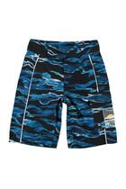 Camo Waves Swim Shorts