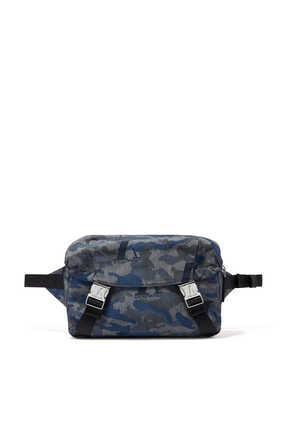 Camo Jacquard Belt Bag
