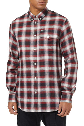 Checkered Linen Shirt