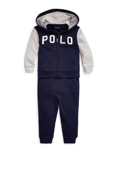 Cotton Terry Hoodie & Pant Set