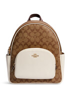 Court Signature Canvas Backpack