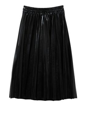 Logo Belt Skirt