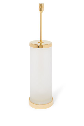 Frosted Glass Toilet Brush