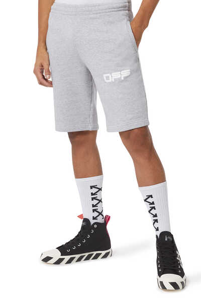 Airport Tape Jogging Shorts