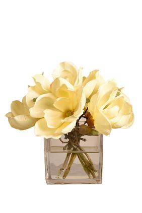 Small Magnolia Arrangement in a Glass