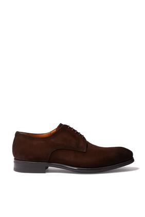 Derby Suede Shoes