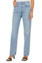 Lana Mid Rise Straight Leg Jeans