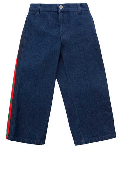Web Denim Pants