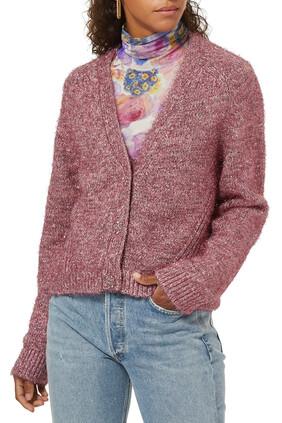 Glitter Knit Cardigan
