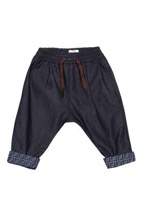 Monogram Cotton Pants